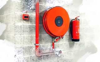 СП внутренний противопожарный водопровод