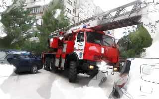 Пожарный проезд